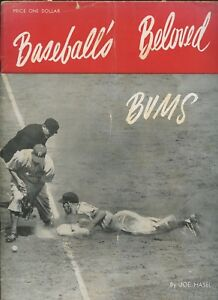 1947 Brooklyn Dodgers Beloved Bums Yearbook With Jackie Robinson