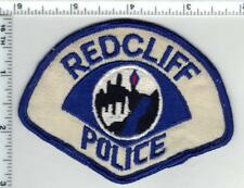 Redcliff Police (Indian/Tribal Alberta Canada - Shoulder Patch - Early 1980's