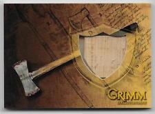 2013 Breygent GRIMM Collector Cards PROP Card #GPR-3 Dual Head Fire Axe