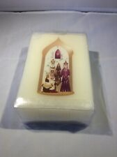 Nativity Square Candle