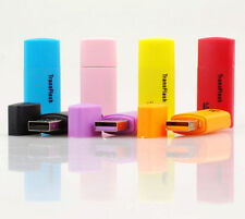 2 X High Speed Mini External USB 2.0 Micro SD TF Memory Card Reader Adapter