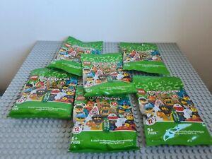 LEGO Series 21 Minifigures Playset (71029) x 6 bags unopened