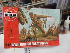 Airfix WWII British Paratroops 1/72 Scale Plastic Model Kit