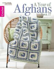 Crochet Pattern Book A Year Of Afghans Book 17 ~ 12 Designs