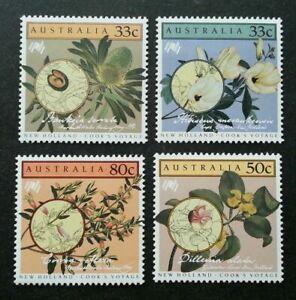 [SJ] Australia New Holland Cook's Voyage Flowers 1986 Flora Plant (stamp) MNH