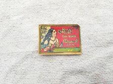 Vintage Chameil Jasmine hair oil 5.8cm x 4.8cm Lady Imprimé Publicité Label