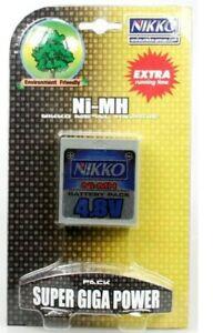 Nikko Super Mega Power Akkupack Ni-MH 4,8 V NEU OVP