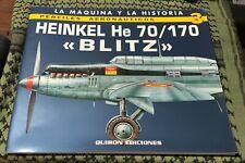 HEINKEL He70 He170 CONDOR LEGION SPAIN LUFTHANSA GERMAN LUFTWAFFE  HUNGARY