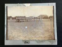 👍  1900s BRITISH SIKH SOLDIERS ON PARADE IN CHINA ORIGINAL PHOTO 英印军在中国