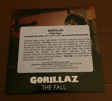 RARE - Gorillaz - The Fall - Promo CD Album
