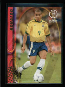 RONALDO 2002 PANINI FIFA WORLD CUP #37 JAPAN & KOREA SOCCER CARD N6186