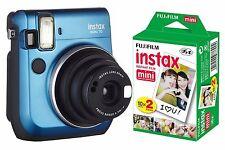 Fotocamera Istantanea FujiFilm Fuji Instax Mini 70 (Island Blue) + 20 foto