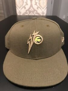 West Virginia Power Fitted New Era 5950 Cap Hat 7 1/4 NWT Made In USA