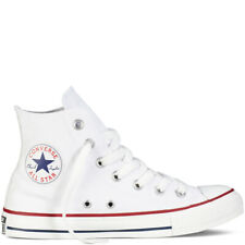 New Converse Chuck Taylor All Star Classic Hi Top UK Size 12 Optical White M7650