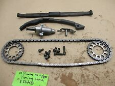 2007 Yamaha RX 10 Apex 1000 engine timing chain, sliders and tensioner