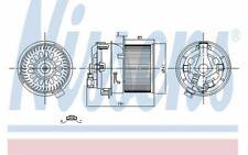 NISSENS Ventilation habitacle pour PEUGEOT 208 87258 - Pièces Auto Mister Auto