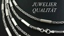 925 echt silber Sterlingsilber Königskette rund Massive Hals kette 60 Zylinder