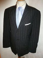 Homme Hugo Boss ANGELICO PARMA noir laine Hiver veste de tailleur Taille 40 Jambe 34 31