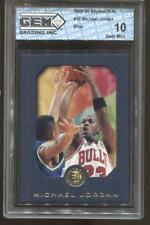 1995-96 Michael Jordan Skybox E-XL Blue #10 Gem Mint 10 Chicago Bulls