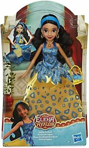 Disney Hasbro Princess Elena Adlopard Jaquin Festival Dress Doll + Accessories
