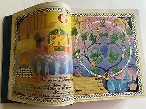 VTG 1951 Red letter edition MASON / MASONI HOLY BIBLE REFERENCE CYCLOPEDIC INDEX