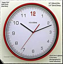 Hometime Plastic Modern Wall Clocks