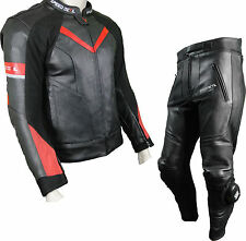 BIKER OUTFIT LEATHER SUIT TROUSERS,SAS-TEC SAFETY MOTORCYCLE CLOTHING BULLET