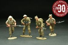 FIGARTI PEWTER WW2 BRITISH 8TH-004 CAMERON'S ADVANCING MIB