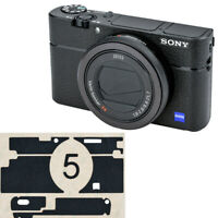 Premium Leather Fiber Protection Film For Camera Body Sony Rx100V Va Rx100 Iii