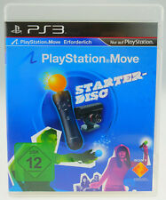 Move STARTER DISC SONY PLAYSTATION 3 ps3 Sport tedesco