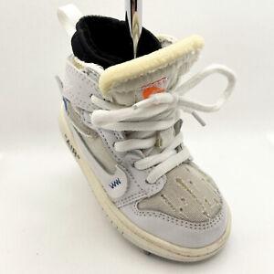 Custom Off White Air Jordan Retro 1 Shoe Sneaker Putter Cover