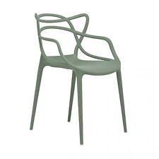 Kartell Masters Philippe Starck salbeigrün Besucherstuhl Stuhl