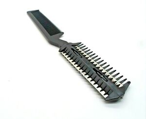 1 X Hair Razor Comb Hair Cutting Thinning DIY Trimmer with Blades Double Sides