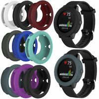 For Garmin Vivoactive 3 GPS Running Watch Silicone Rubber Skin Cover Colorful