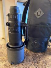 Objectif Nikon Nikkor AF-S 200-400 mm f / 4g ed vr ii