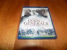GODS & GENERALS EXTENDED DIRECTORS CUT Civil War Movie Classic BLU-RAY DISC