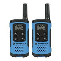 Motorola Talkabout T100 Two-Way Radio, 16 Mile, 2 Pack, Blue