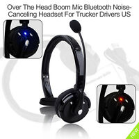 Wireless Headset Headphone with Microphone for iPhone Xs Xr 8 7 6S PS3 Game Chat