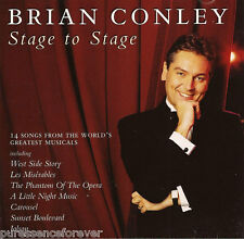 BRIAN CONLEY - Stage To Stage (UK 14 Track CD Album)