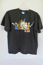 Boy's Lego Star Wars Black T-Shirt Size XL