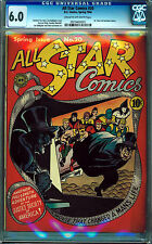 ALL STAR COMICS #20 CGC 6.0 CREAM TO OFF-WHITE PAGES GOLDEN AGE