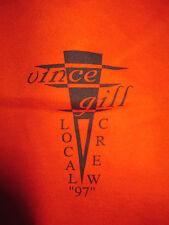 1997 Vince Gill Crew Tour Concert (Xl) T-Shirt