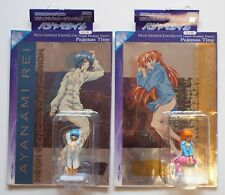 NEON GENESIS EVANGELION Visual Package Figure Pajamas Time Rei & Asuka Set JAPAN