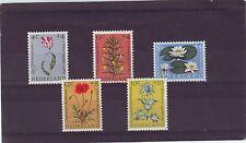 NETHERLANDS - SG893-897 MNH 1960 WELFARE FUNDS - FLOWERS