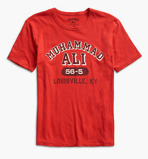 Lucky Brand - Mens XL - NWT - Red Muhammad Ali Louisville KY Cotton T-Shirt