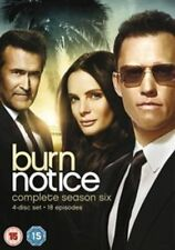 Burn Notice Complete Series 6 DVD All Episodes Sixth Season Original UK NEW R2