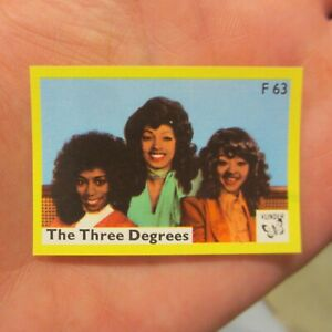 THREE DEGREES Vintage Early 1970s Dutch Vlinder Matchbook Label R&B Soul Music