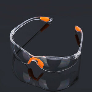 Factory Lab Outdoor Work Goggles Clear Safety Eye Protective Glasses Anti-impact