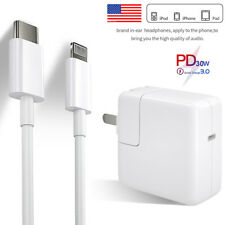 PD 30W Fast Charger USB-C to Lightning Adapter For iPhone 11 Pro XS Max iPad Pro