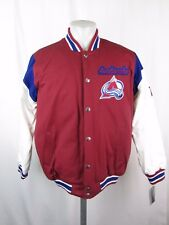 Colorado Avalanche NHL Men's G-III Stanley Cup Snap-up Cloth Jacket